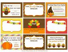 Thanksgiving Note Card For Teachers Template by The Polka Dot Posie Printable Thanksgiving Lunch Box Notes