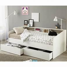 bett einzelbett stauraumbett sleep 1 einzelbett bett in wei 223 mit ablage