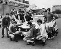 1970 England World Cup Footballers Get Free Ford Cortina