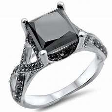20 unique black diamond engagement rings for live enhanced