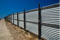 corrugated metal fence stock image image of material