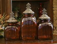 canisters kitchen decor design mediterranean glass kitchen canisters food