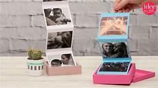 diy geschenk idee fotoalbum in der box selber basteln