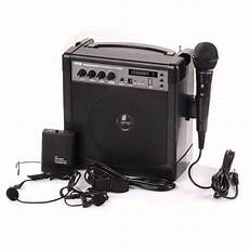 Remax Portable Handheld Microphone Stereo Sound by Portable Pa Speaker Lifier Microphone System