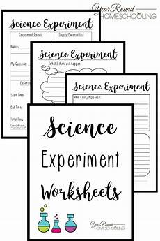 science worksheets free 13417 science experiment worksheets year homeschooling