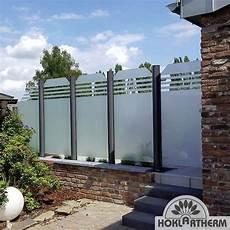 Terrassen Windschutz Glas - windschutz glas f 252 r terrasse balkon direkt vom