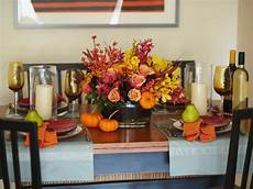 Decorating Ideas For Thanksgiving by 15 Stylish Thanksgiving Table Settings Hgtv