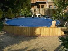 Pool In Erde Einbauen - intex frame pool in erde einlassen h 228 user mit pool im