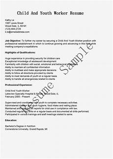 resume template for youth worker resume sles child and youth worker resume sle