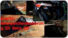 acerbis kurze kennzeichenhalterung beta rr lc 125 motard
