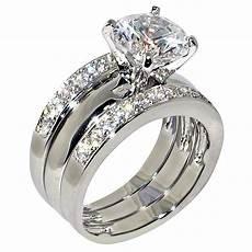 3 47 ct round cubic zirconia cz solitaire bridal