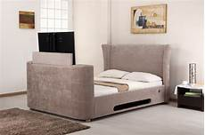 Lb777 Mink Fabric Tv Bed 4