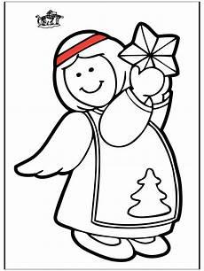engel 7 ausmalbilder weihnachten