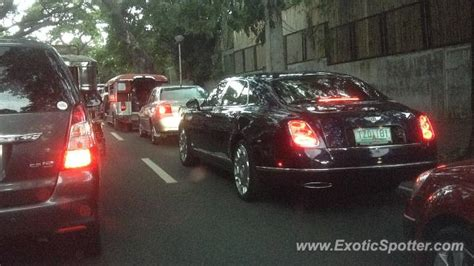 Bentley Mulsanne Spotted In Makati City, Philippines On 09