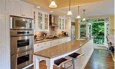 galley kitchen with island layout galley kitchen with island and only one wall ideas