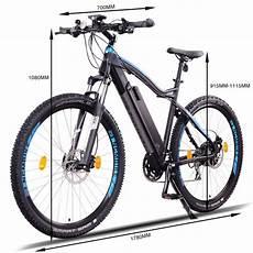 ncm moscow plus 29 zoll e mtb mountainbike e bike schwarz