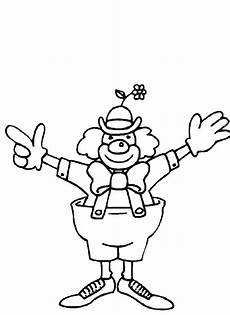 free printable clown coloring pages for