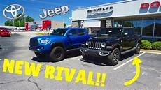 2020 jeep gladiator vs toyota tacoma 2020 jeep gladiator vs 3rd toyota tacoma
