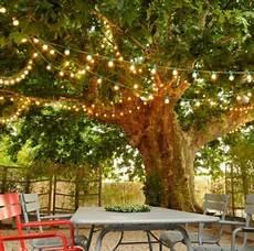 guirlande lumineuse jardin cr 233 ez une ambiance magique dans votre jardin avec cette