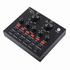 V811 Live Sound Card Electronic Sounds by V8 Sound Card Audio Interface External Live Broadcast