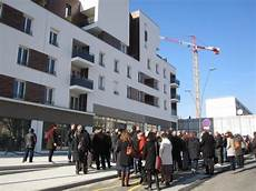 Visite Du Chantier De R 233 Novation Urbaine Du Quartier