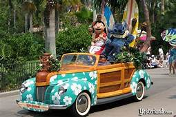 Lilo And Stich Car In Disney Stars Motor Cars Parade