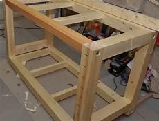 Küche Selber Bauen Holz - holz notizen werktisch die erste