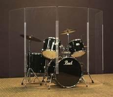 New 5 Ft 5 Panel Drum Shield Plexiglas Drum Screen Drum