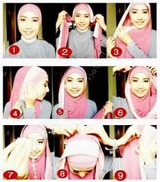 Cara Pakai Jilbab Pashmina Untuk Muka Bulat Style