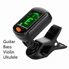 1 Pcs Quality Clip On Guitar Tuner Portable Universal