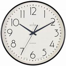 Wall Clock Hanging Silent Quartz Battery by Black Quartz Battery Wall Clock Silent Sweep Seconds