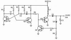 12 to 6 volt diagram 6v to 12v dc converter circuits