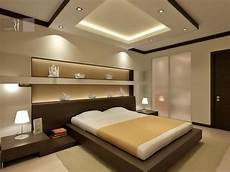 simply minimalist bedroom for men with less furniture and modern lighting fixtures decorating