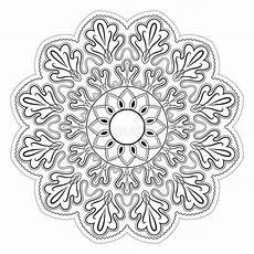 Mandala Malvorlagen Xl Black And White Abstract Pattern Mandala Stock Vector