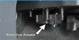 Service Manual How To Remove Heater Blend Door Actuator