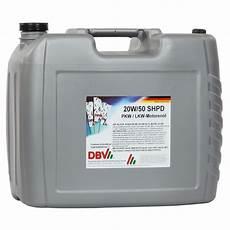 dbv 20w 50 shpd 20 liter kanister 58 83 linja gmbh