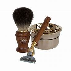 kit de rasage pour homme coffret cadeau de rasage pour homme avec rasoir mach3