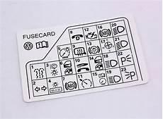 98 a4 fuse diagram fuse panel diagram key card 98 05 vw passat b5 genuine 3b0 010 241 f carparts4sale inc