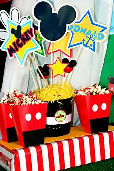 Mickey Mouse Decorations by Amanda S To Go Mickey Mouse