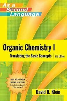 organic chemistry as a second language 2nd edition rent