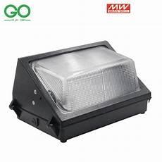 led wall lights 60w 80w outdoor wall mounted industrial light meanwell ul etl saa ce equal