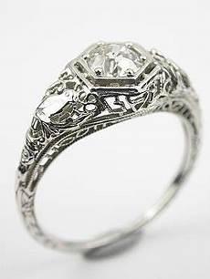 edwardian engagement ring with bird motif rg 3126 wedding rings
