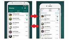 trasferire conversazioni whatsapp da iphone ad android e viceversa