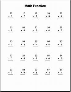 more multiplication practice sheets all this