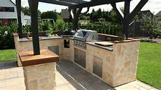 outdoor küche bauen beefeater outdoor k 252 che bauen mit gardelino de
