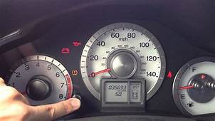 2009 Honda Pilot Check Engine Light Blinking