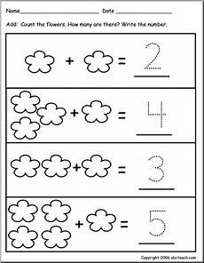 addition worksheets pre k 9010 worksheet addition to 10 flower theme pre k abcteach