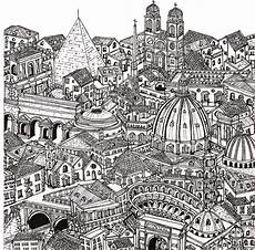 therapy coloring page italy rome 7