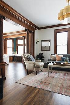 1902 victorian jean stoffer design craftsman living rooms dark trim paint colors for