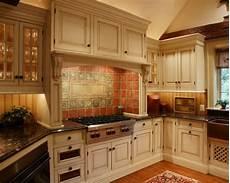 Terracotta Backsplash Kitchen